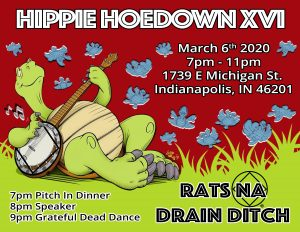 Hippie Hoedown @ Woodruff Place Baptist Chruch | Indianapolis | Indiana | United States